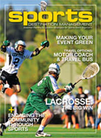 Sports Destination Magazine cover