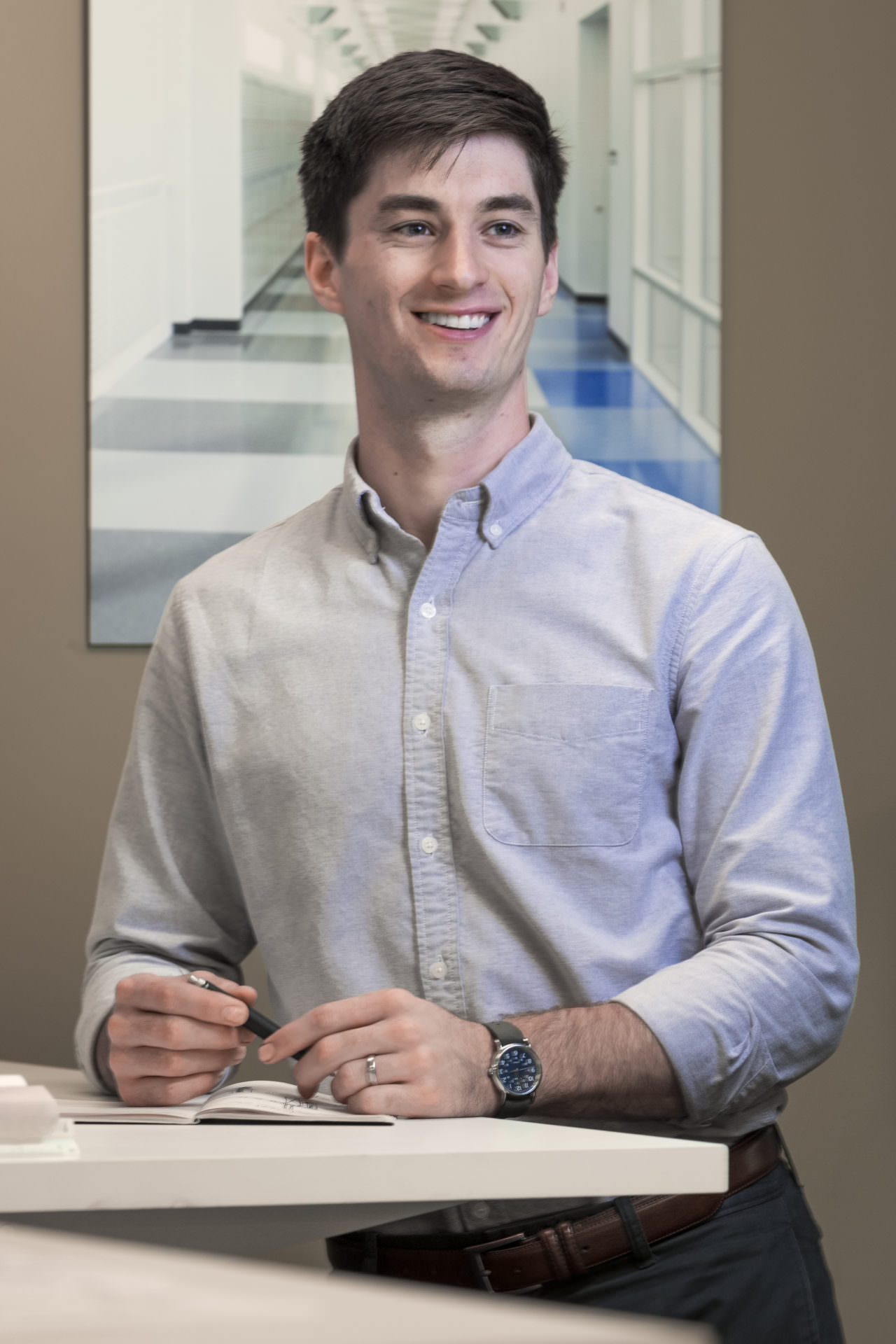 architect intern calvin wright