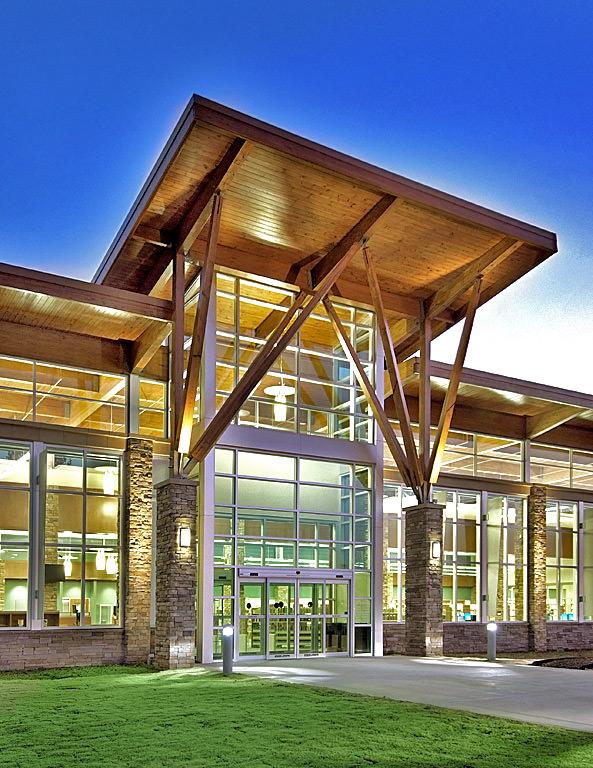 kroc center entrance