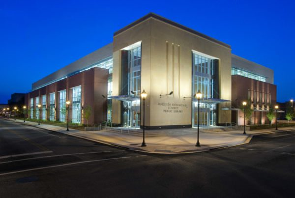 Augusta Main Library, East Central GA Regional Library System, Libraries Architecture