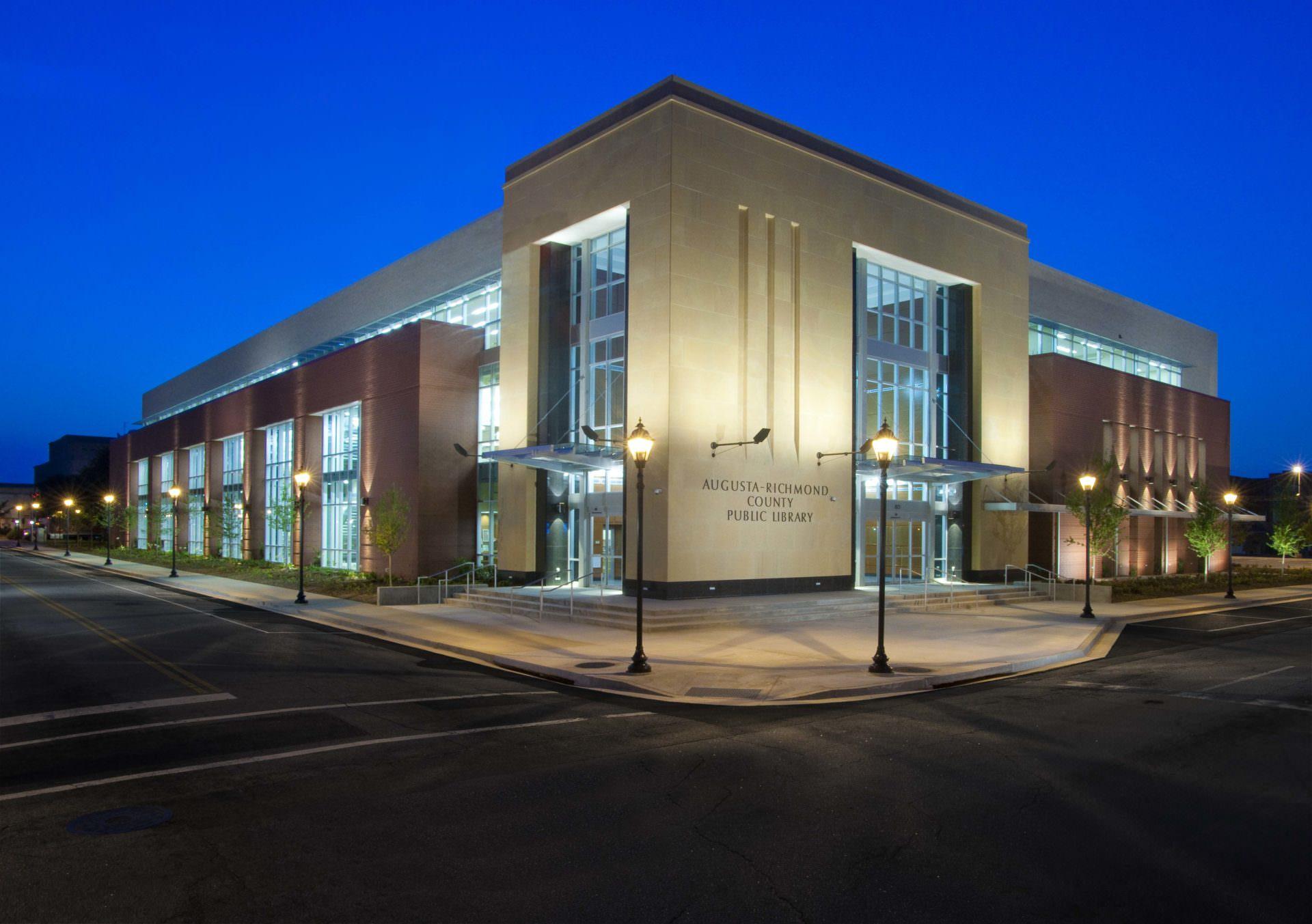 Augusta main library east central ga regional library for Designer homes augusta ga