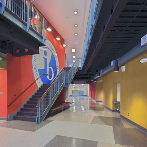 Buist Academy, K-12 Education Architecture