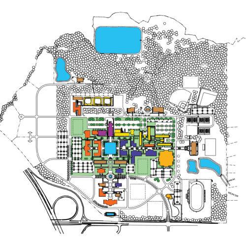 Master Plan, Charleston Southern University, Master Planning Architecture