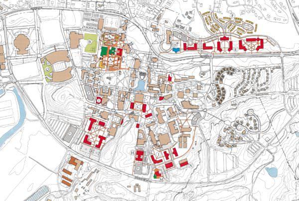 Master Plan, Clemson University, Master Planning Architecture