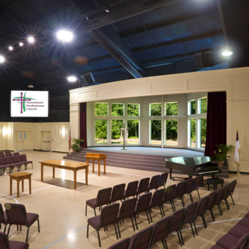 Eastminster Presbyterian Church, Ministry Architecture