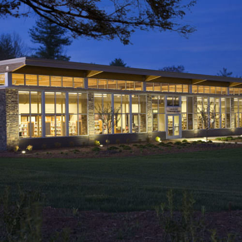 Etowah Branch Library, Henderson County Public Library System, Sustainable Design