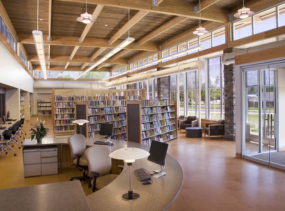 Etowah Branch Library, Henderson County Public Library System | Sustainable Design|Libraries Architecture