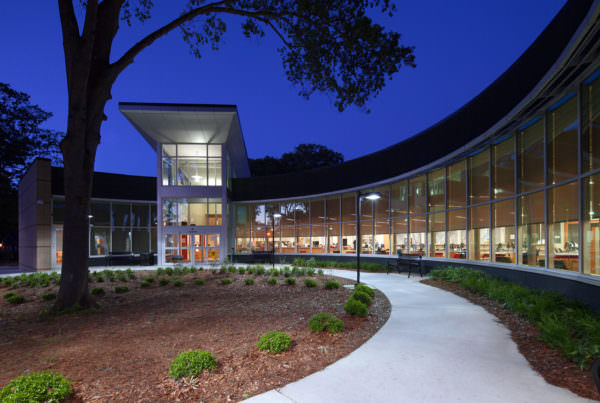 Forest Park Library, Clayton County Library System, Libraries Architecture