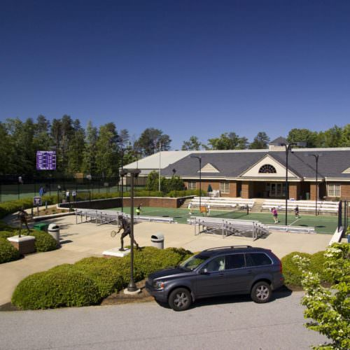 Minor Herndon Mickel Tennis Center, Furman University, Higher Education