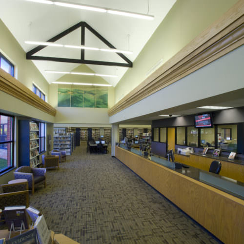 FW Symmes Branch Library, Greenville County Library System, Libraries Architecture