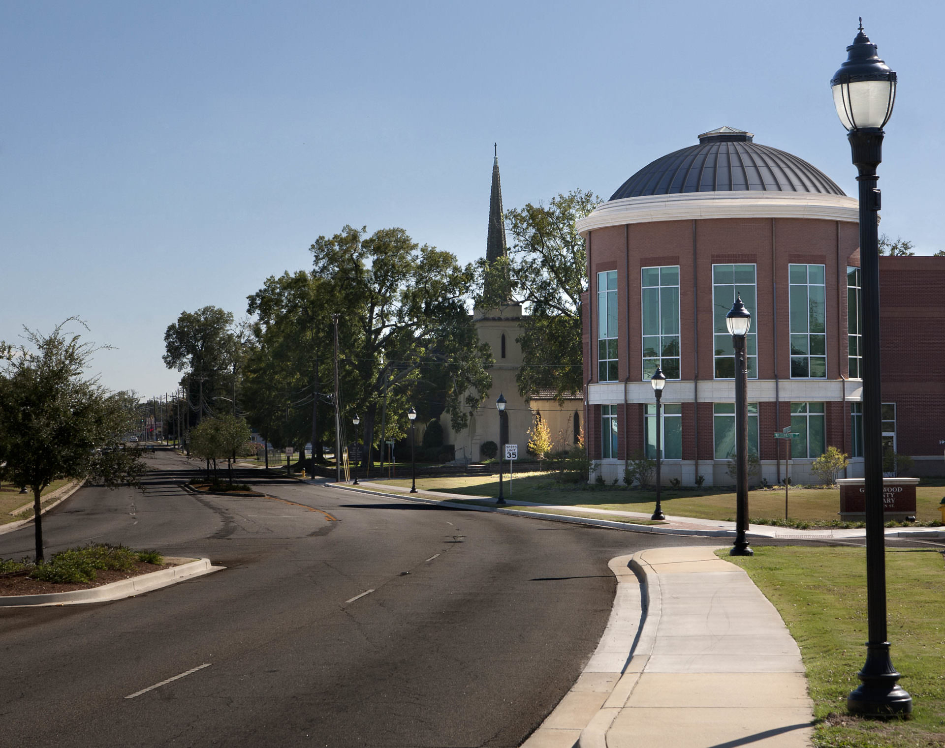 Greenwood County Library, Greenwood County Library System, Sustainable Design