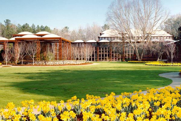 John A. Sibley Horticultural Center, Callaway Gardens, Cultural Architecture