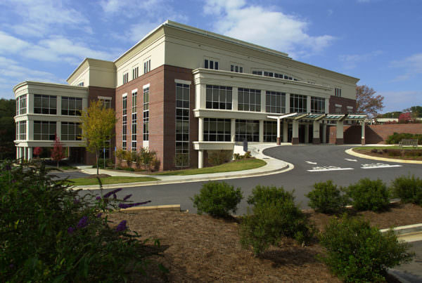 Medical Services Building, Athens Regional Medical Center, Commercial Architecture