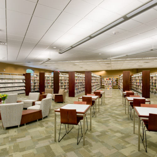 Nancy Guinn Memorial Library, Conyers-Rockdale (GA) Library System, Libraries Architecture