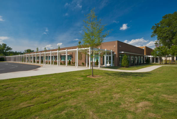 Palmetto Middle School, Anderson School District I, K-12 Education Architecture