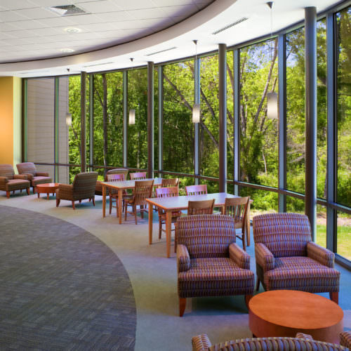 Pendleton Branch Library, Interior Design