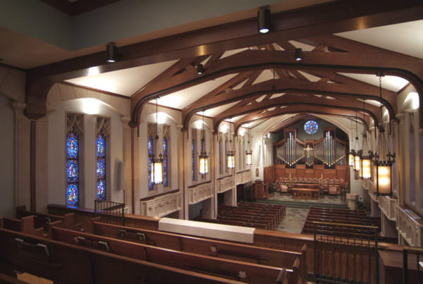 Reid Memorial Presbyterian Church, Ministry Architecture