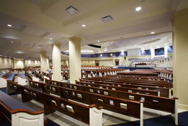 Shandon Baptist Church, Ministry Architecture