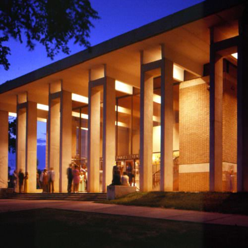 The Charles E. Daniel Theatre, Greenville Little Theatre, Cultural Architecture