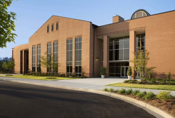 Classroom Building, Tri-County Technical College, Higher Education Architecture