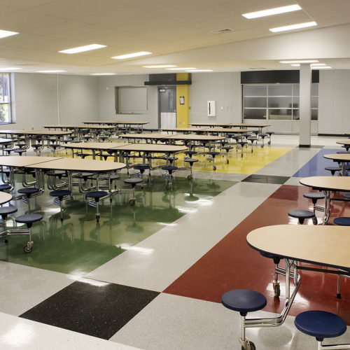 Woodmont Middle School, Greenville County Schools, K-12 Education Architecture