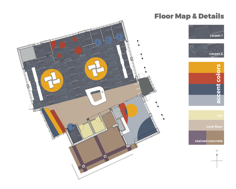 wayfinding floor map